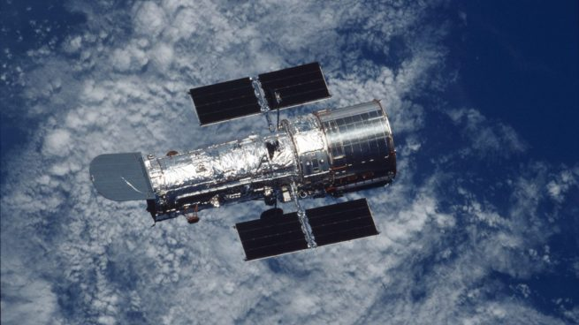 The Hubble Space Telescope. Photo Credit: NASA