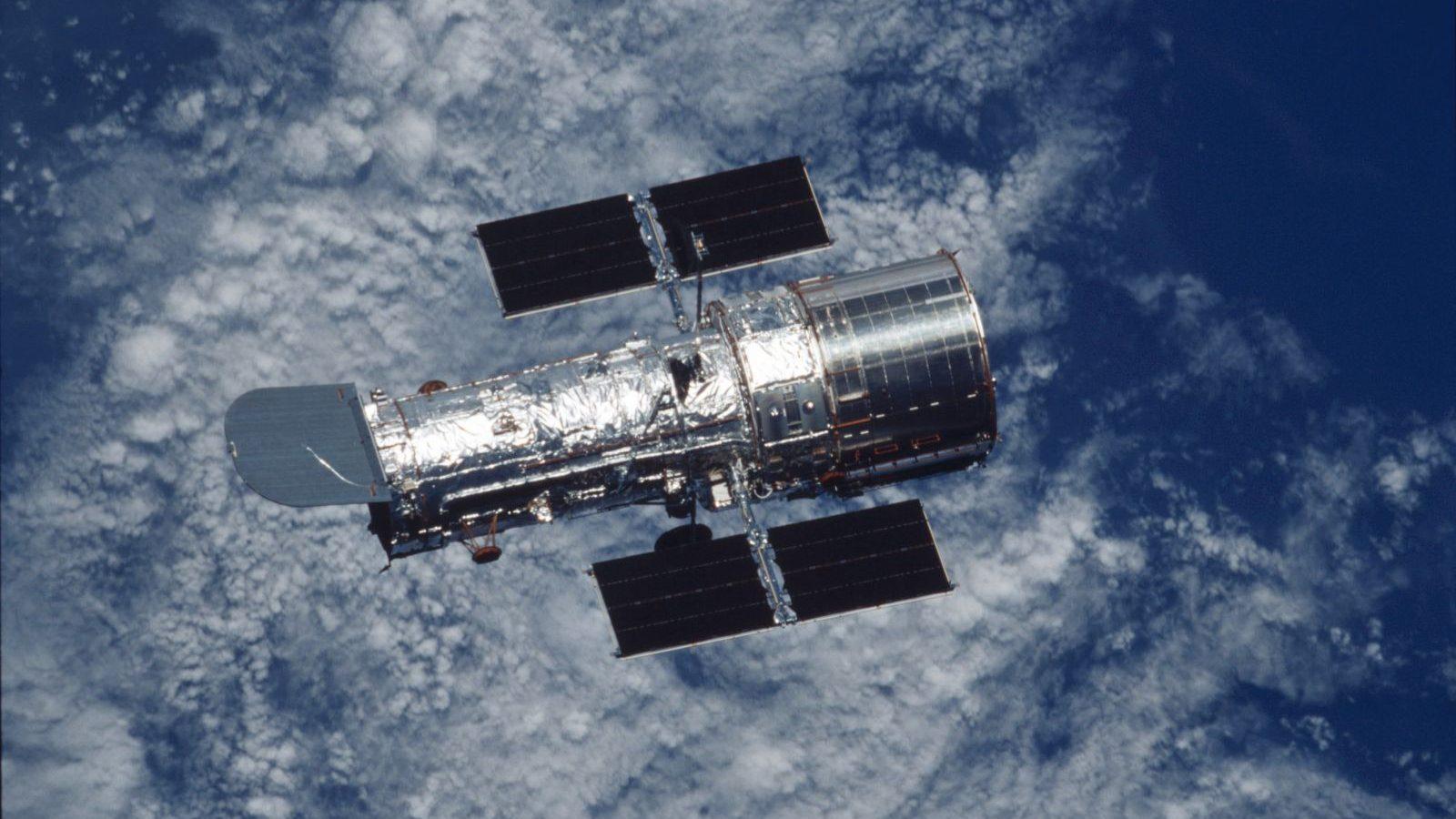 The Hubble Space Telescope. Photo Credit: NASA