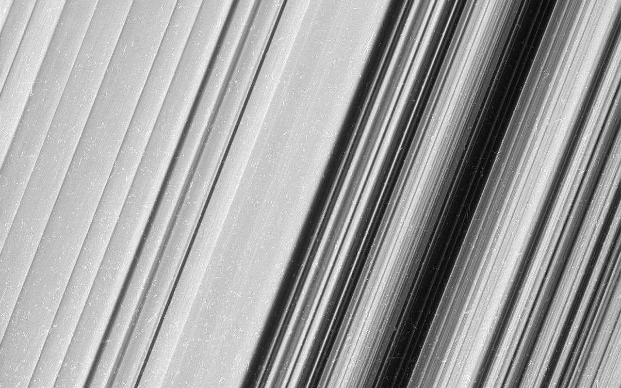 Saturn's B Ring, Finer Than Ever