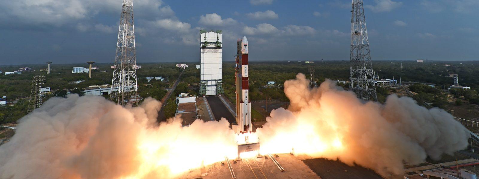 PSLV-C37 liftoff-1