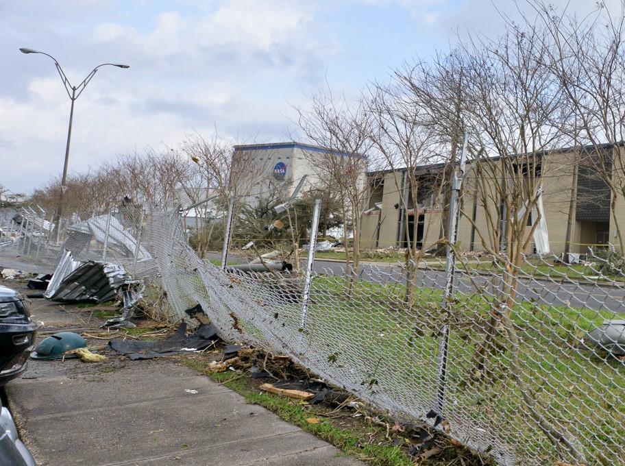 Tornado Damages Nasa S Michoud Assembly Facility