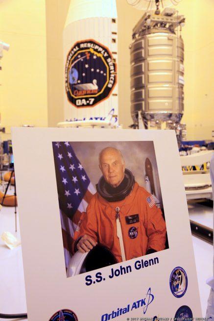 S.S. John Glenn / Cygnus OA-7