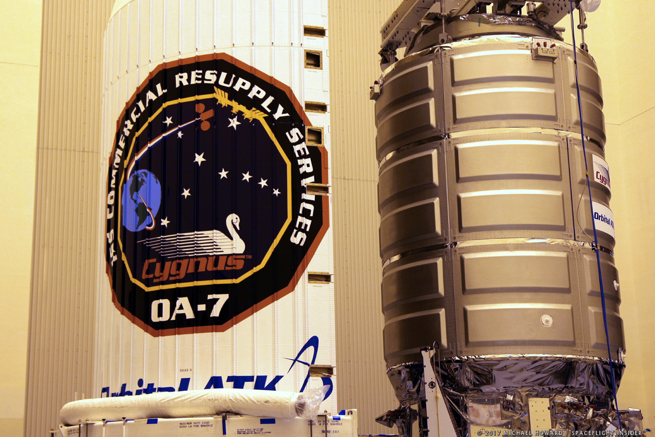 Orbital ATK's 7th resupply mission to space station delayed