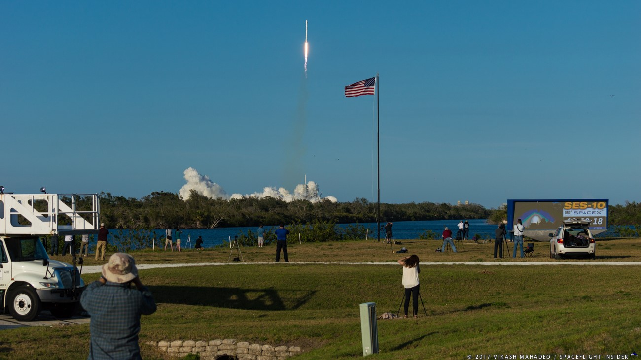 spacex falcon 9 ses-10 launch