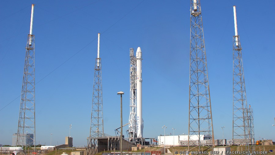 Falcon 9 Core 21 first flight