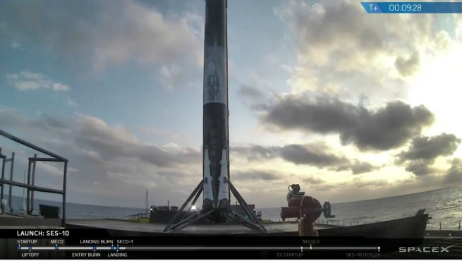 Falcon 9 core 21 second landing