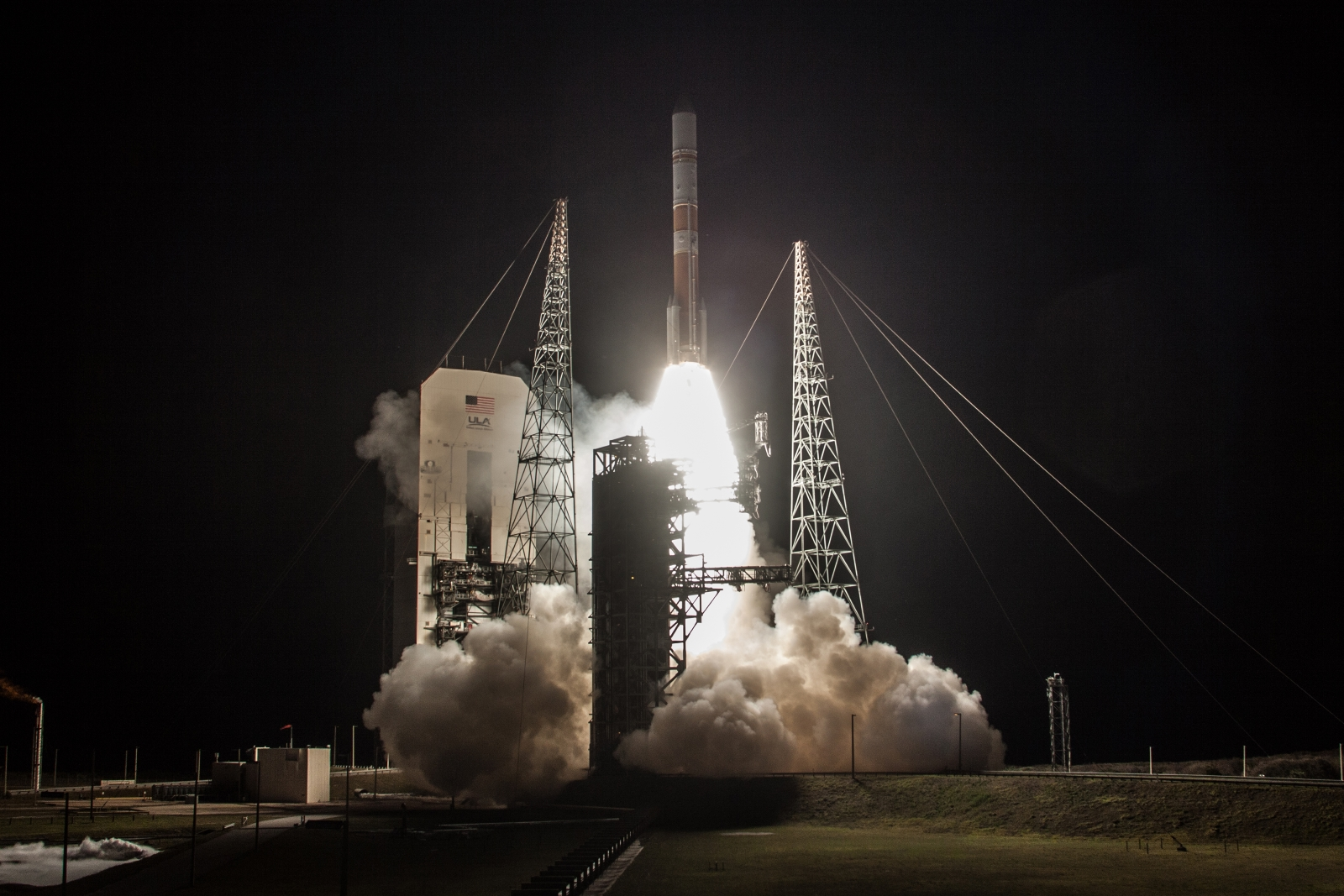 A Delta IV rocket lifts off from Space Launch Complex-37 with the a U.S. Air Force payload. Photo Credit: ULA
