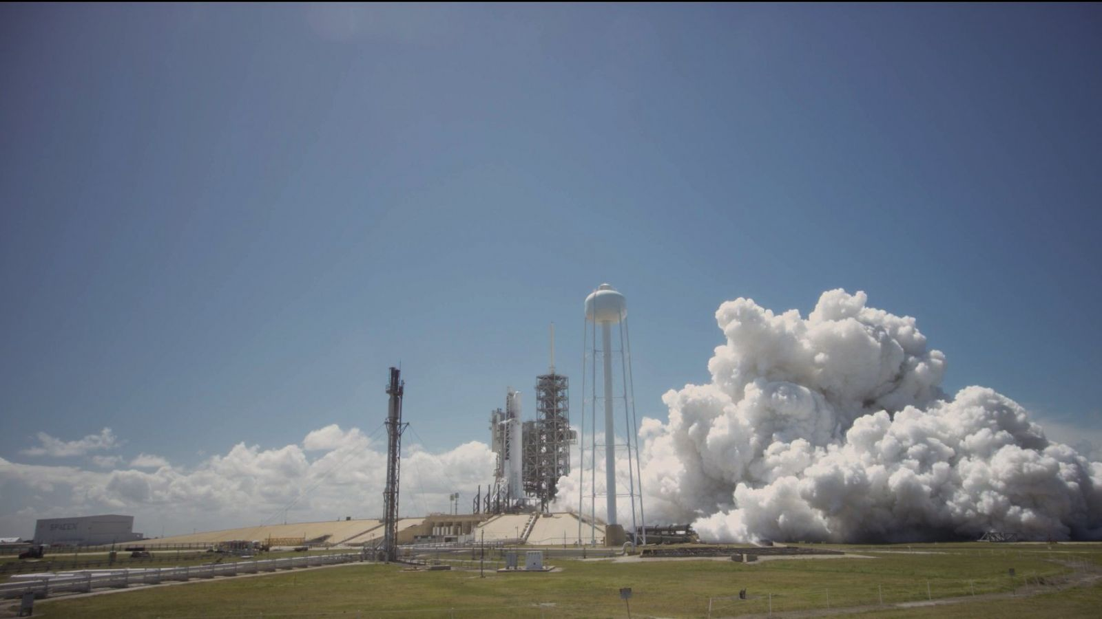 SpaceX Test Fires Falcon 9, Launch Weather 70%