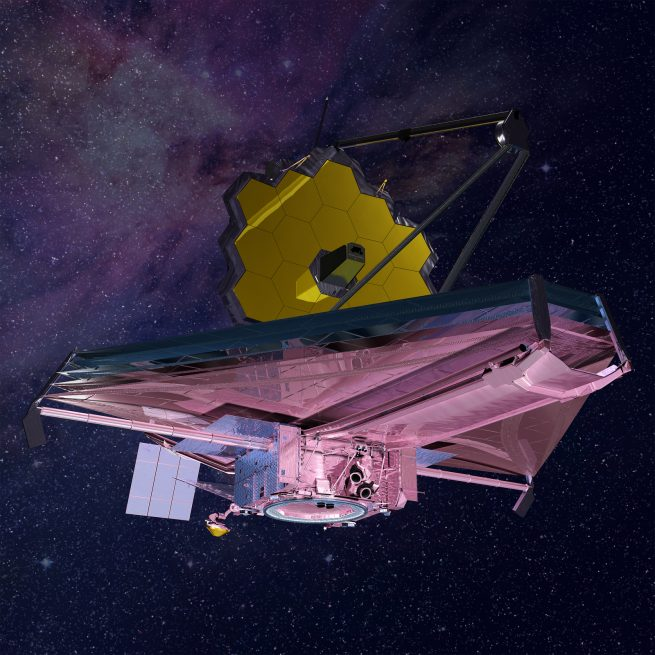 James Webb Space Telescope – Artist's Conception