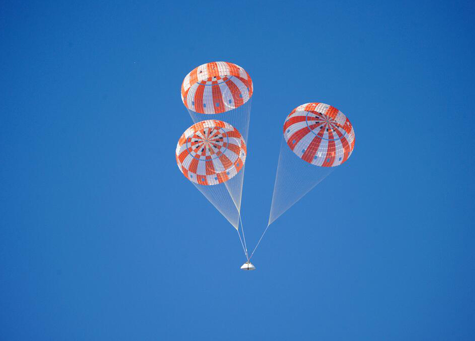 raft parachute nasa - photo #23