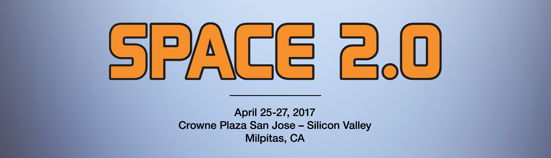 Space 2.0, 2017, Main Banner