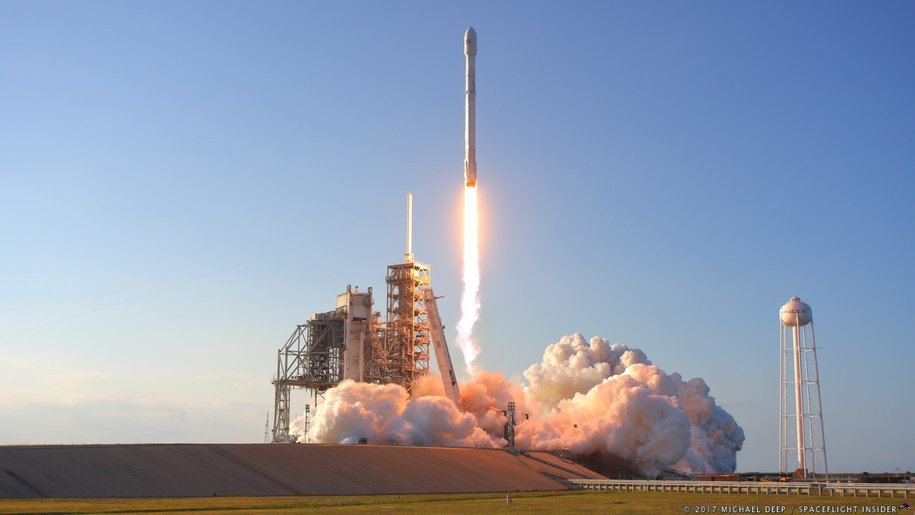 Photo Gallery: SpaceX launches SES-10 on previously flown ...