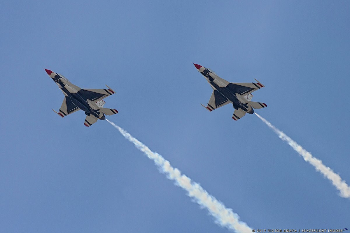 Thunderbirds at Melbourne