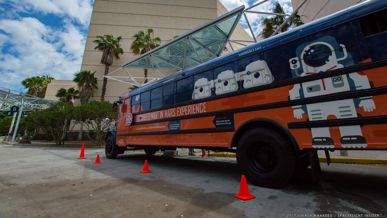 Lockheed's Mars Experience Bus