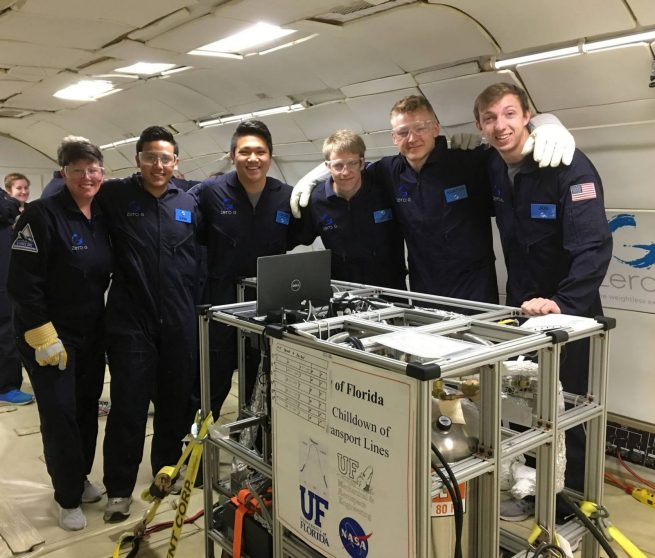 Rocket Propellant Thermal Management System for Deep-Space Missions, University of Florida. Photo Credit: ZERO-G