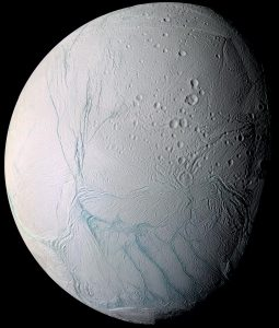 Tiger Stripes on Saturn's Enceladus