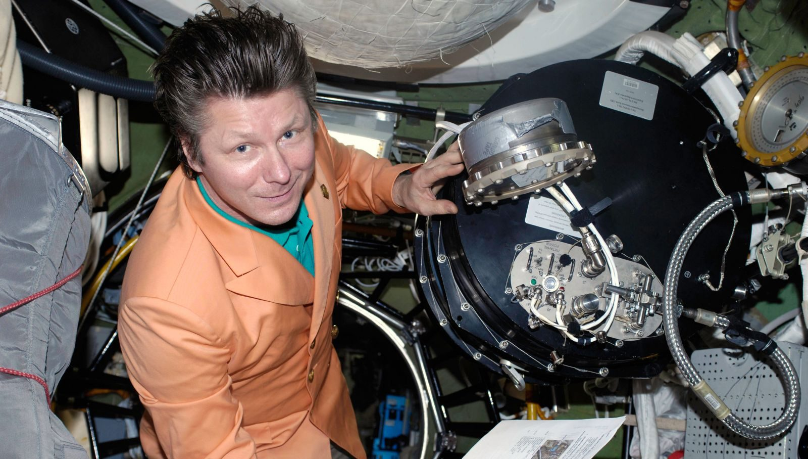 Gennady Padalka in the ISS