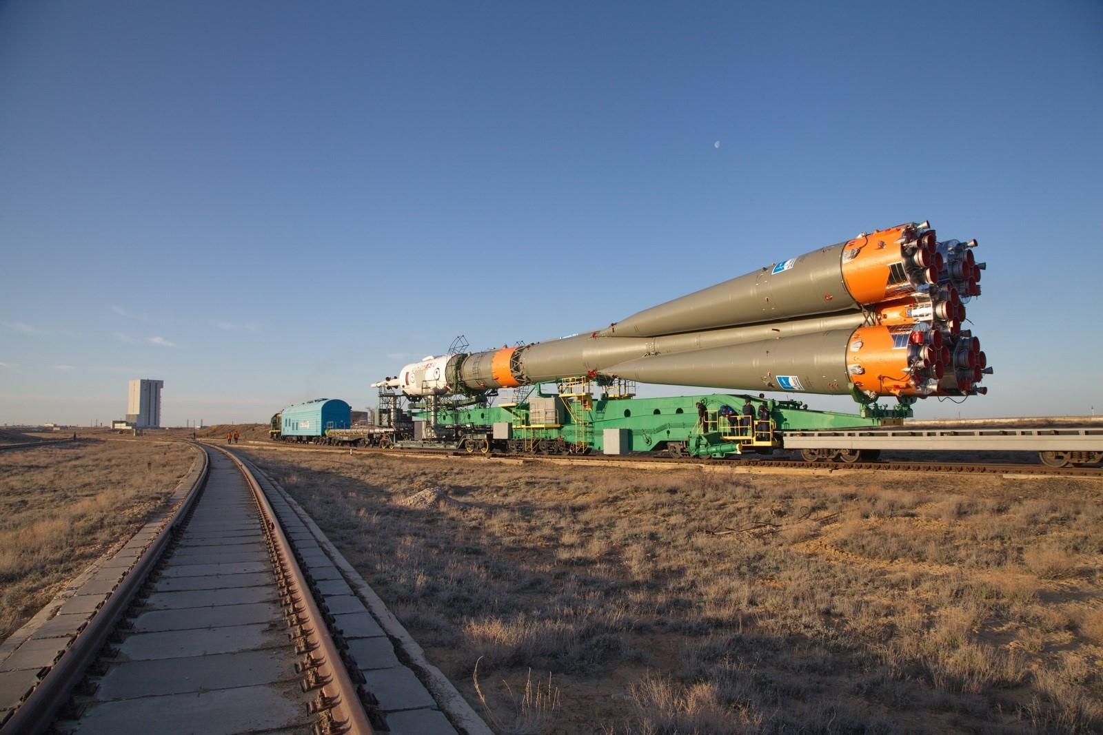 Soyuz-FG / MS-04
