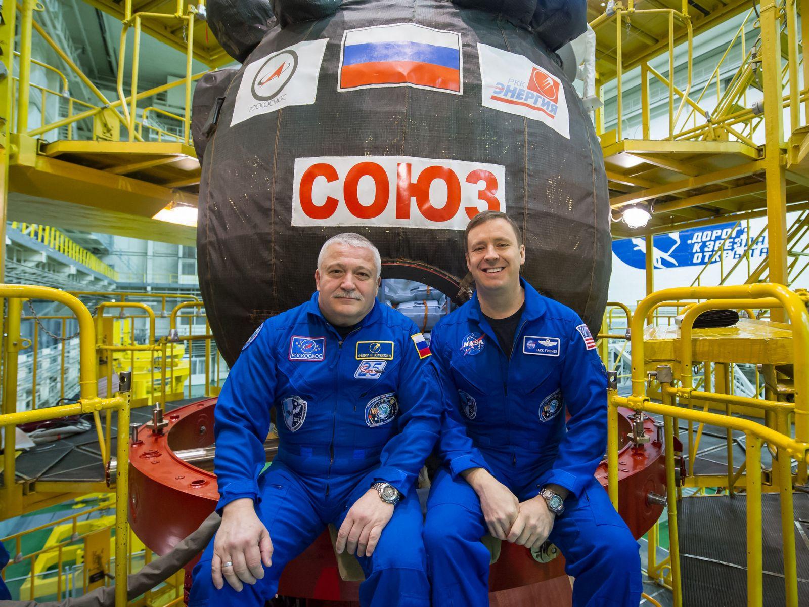 Soyuz-FG / Soyuz MS-04 crew