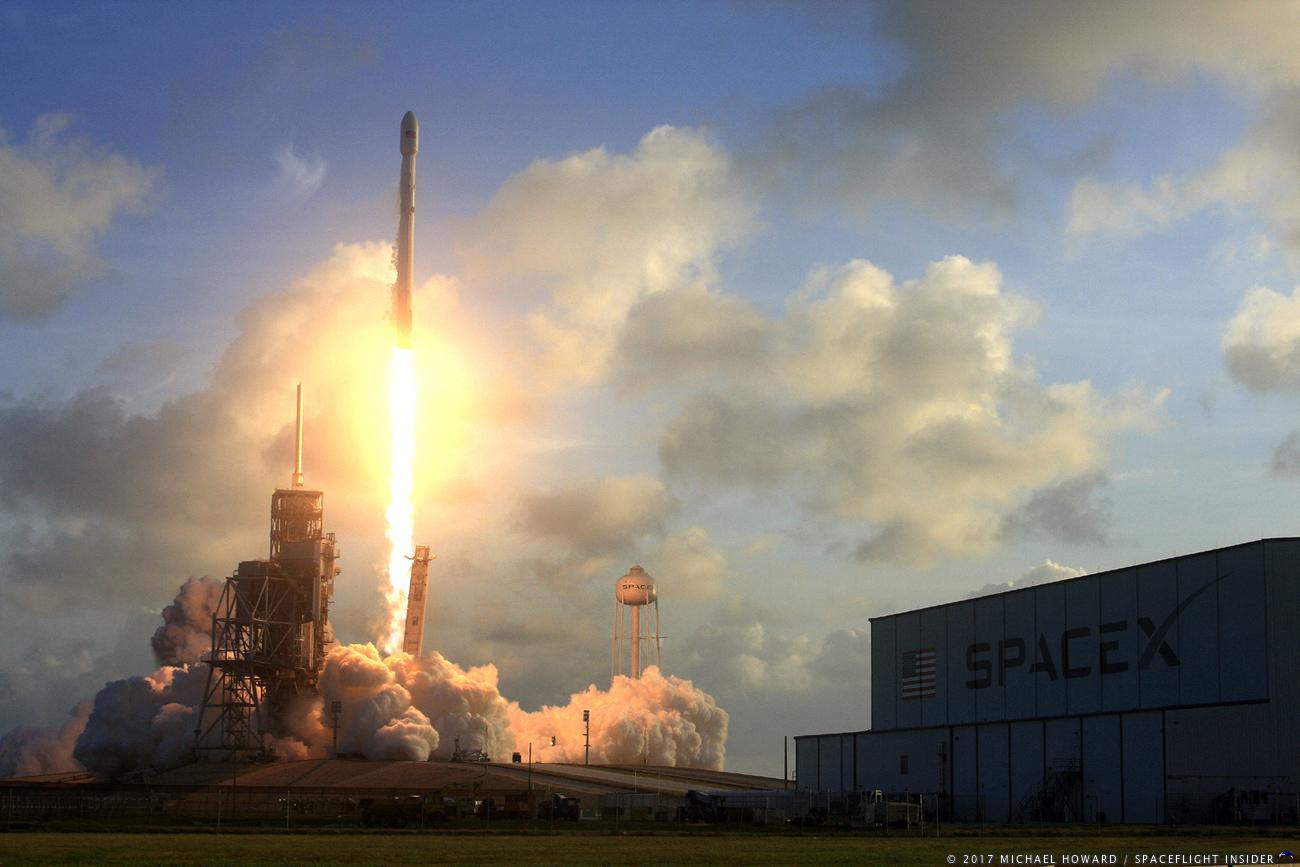 Spacex falcon 9 nrol-76 michael howard