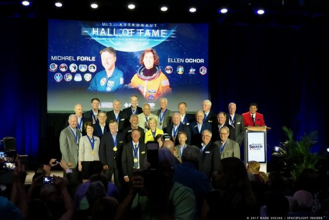 2017 United States Astronaut Hall of Fame induction ceremony. Photo Credit: Mark Usciak / SpaceFlight Insider