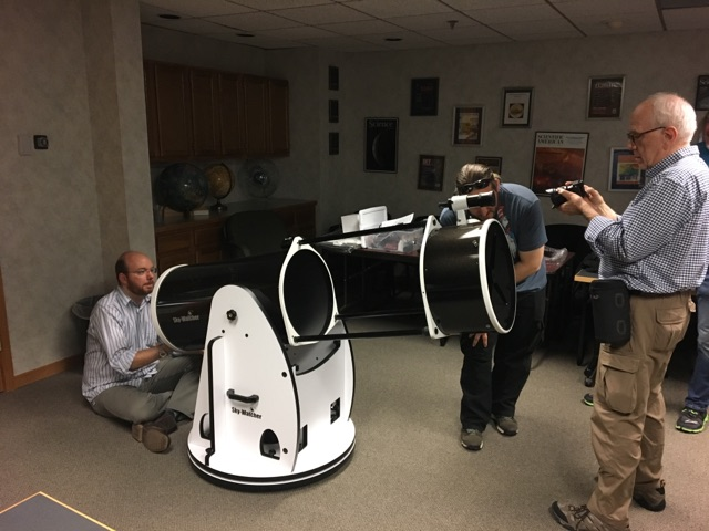 2014 MU69 occultation telescope preperation