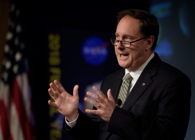 Acting NASA Administrator Robert Lightfoot. Photo Credit: Bill Ingalls / NASA