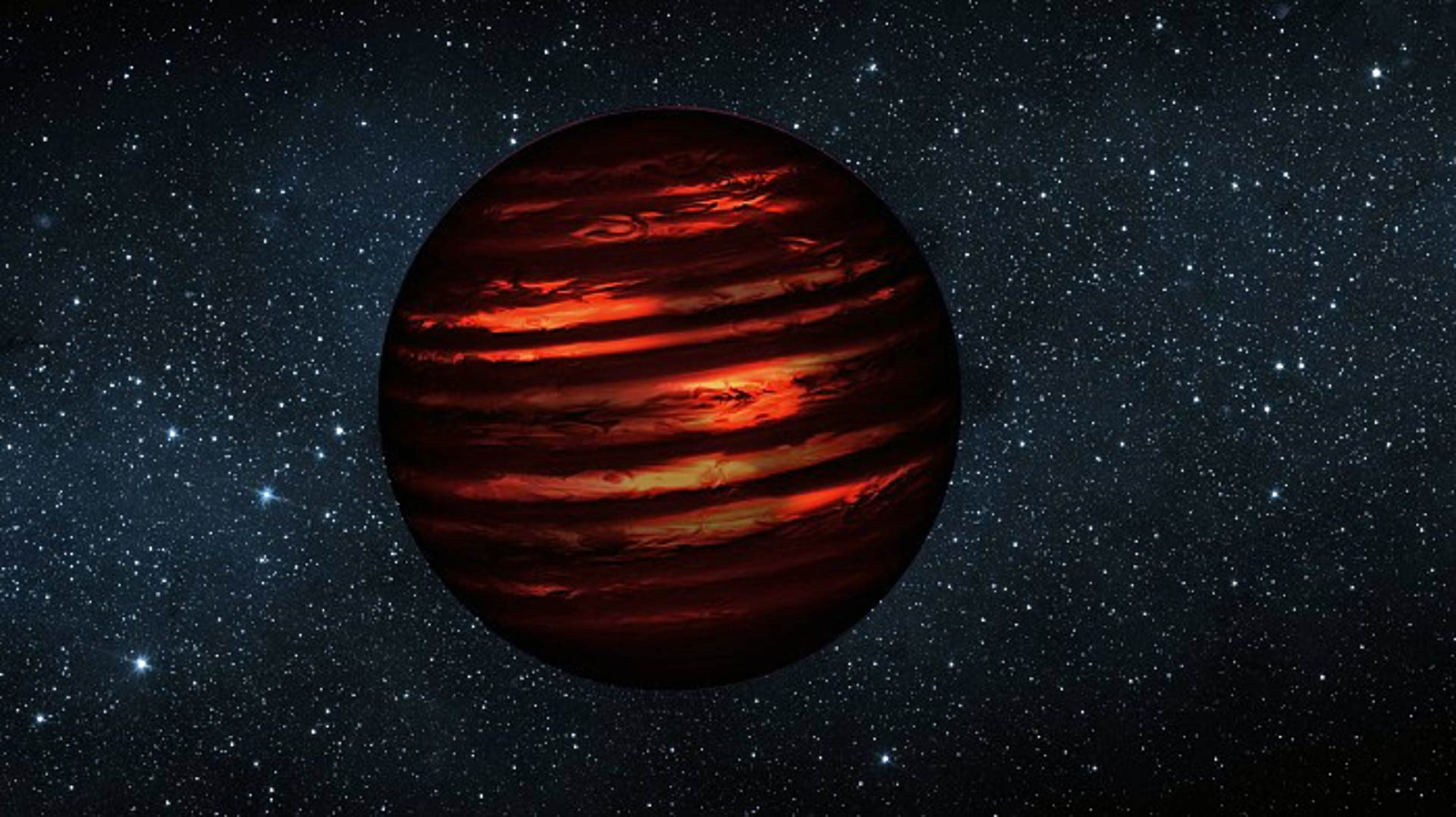 brown dwarf in outer space-#17