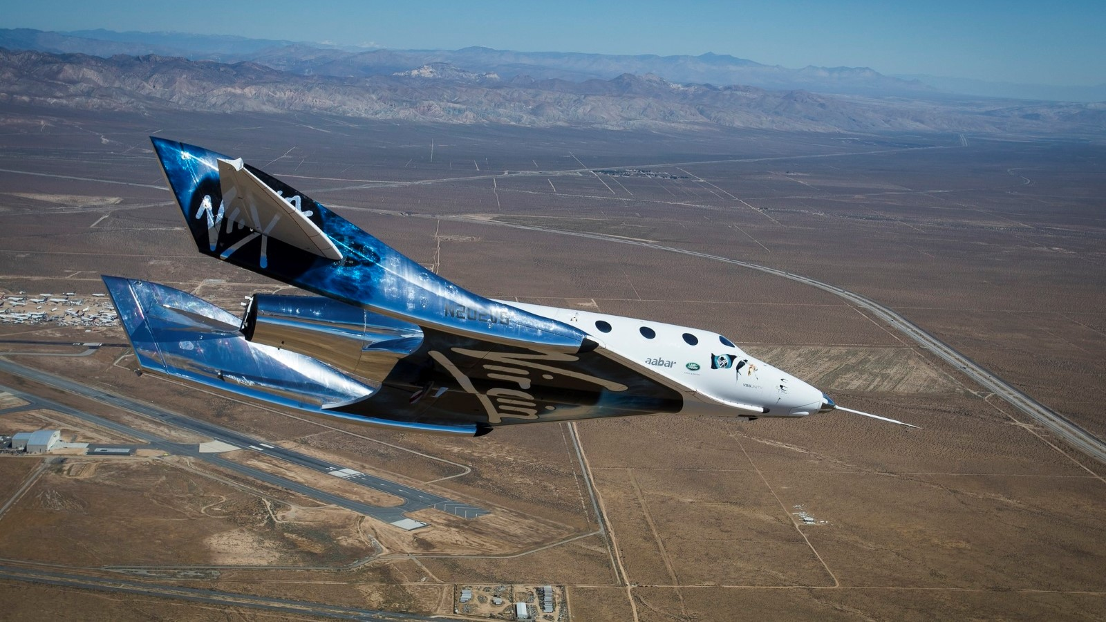 VSS Unity test flight 2017-05-01