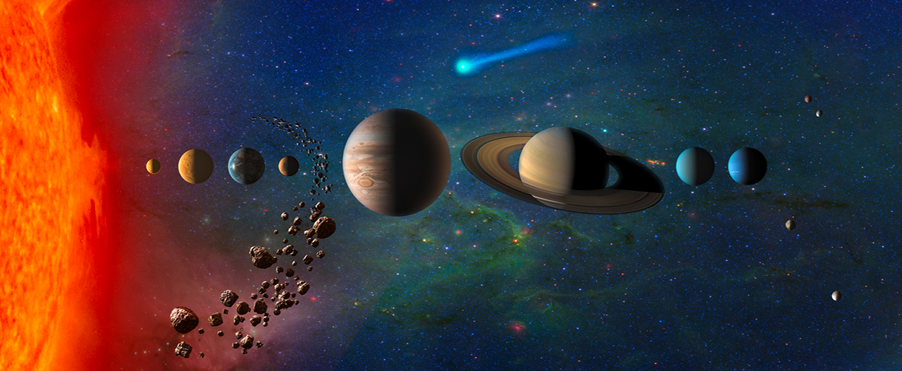 New Frontiers mission to explore the Solar System. Image Credit: NASA