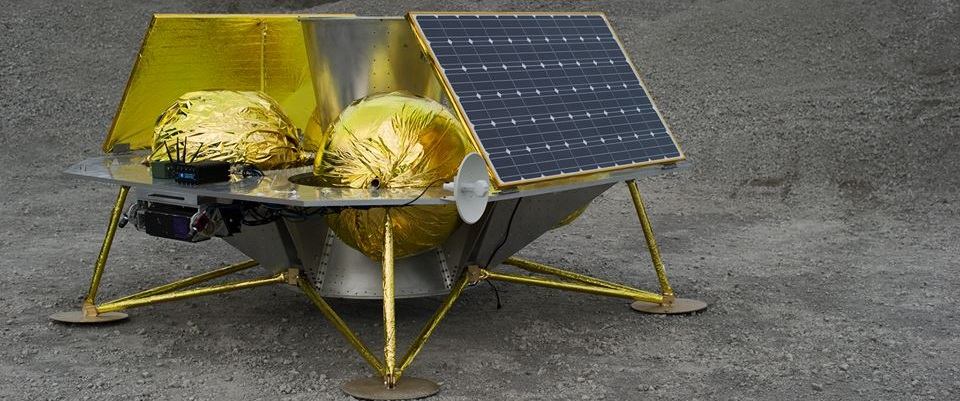 Astrobotic's Griffin lunar lander. Photo Credit: Astrobotic
