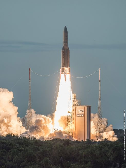 Ariane-5, Flight VA238, launch – 2017-06-28