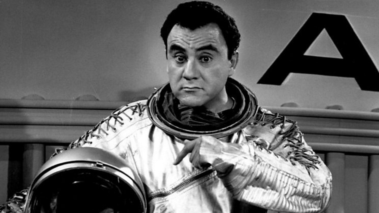 Bill Dana as astronaut José Jiménez on the Bill Dana Show, 1963