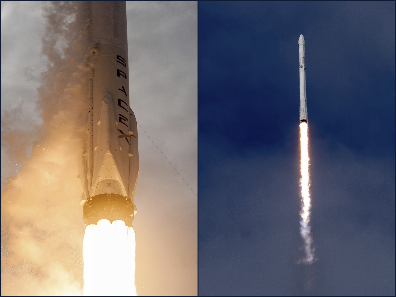 Falcon 9 / CRS-11 Dragon launch