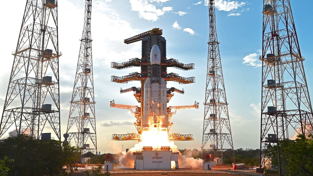 Launch of the GSLV Mk III-D1 / GSAT-19 mission