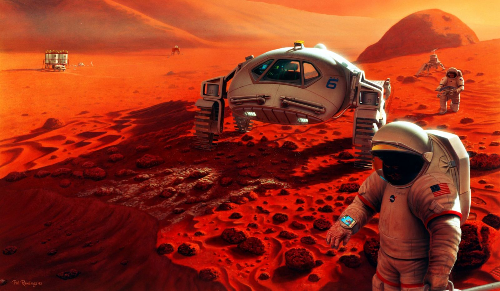 A new study suggests that the cancer risk on a Mars mission due to galactic cosmic-ray radiation could be double what existing models predict.