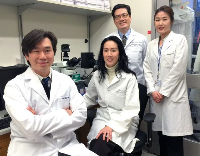 Systemic Therapy of NELL-1 research team
