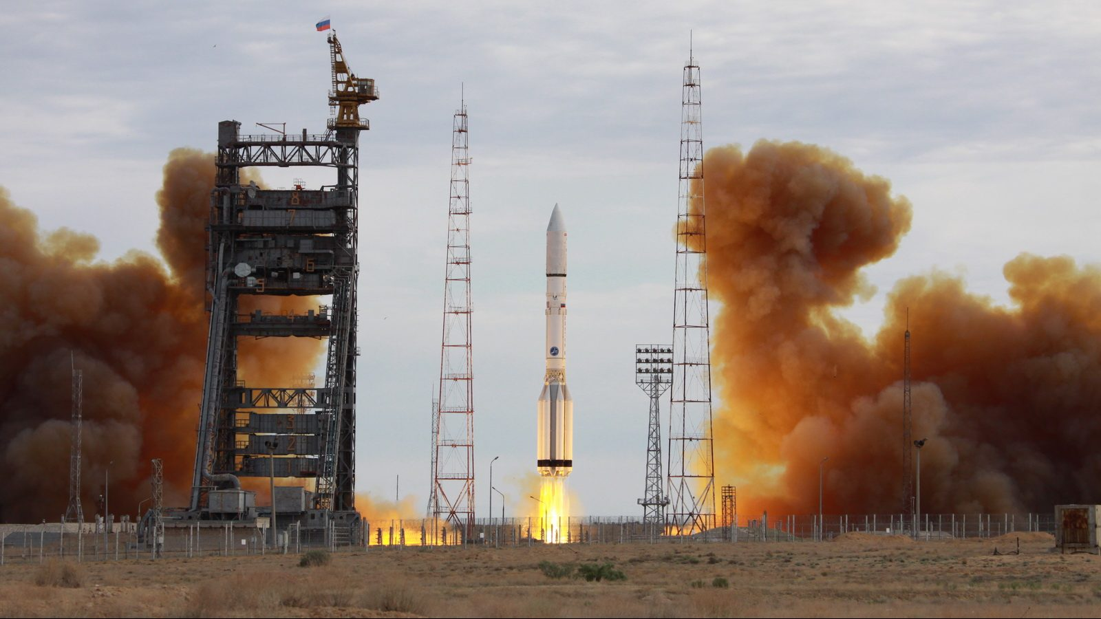 Launch of the Proton-M / EchoStar 21 mission