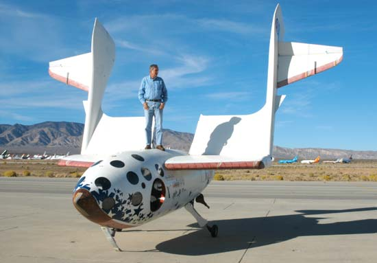Scaled Composites SpaceShipOne Michael Mills Scaled photo