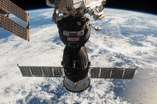 Since 2011, NASA has relied on the Russian Soyuz spacecraft to ferry U.S. astronauts to and from the International Space Station. Photo Credit: NASA