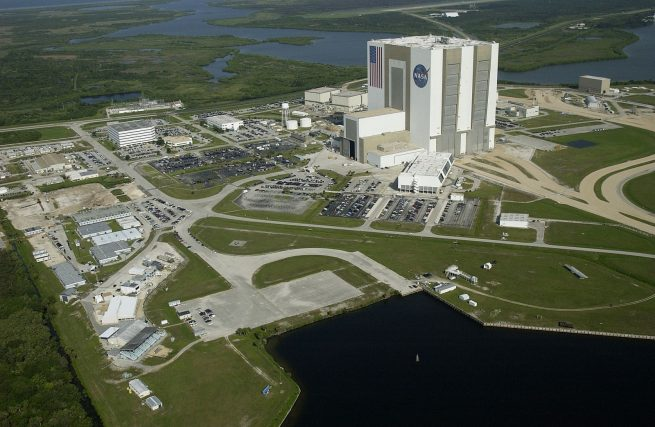 NASA's Kennedy Space Center in Florida. NASA image posted on SpaceFlight Insider