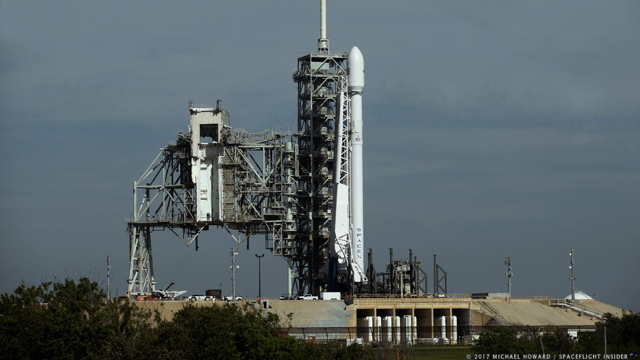 a legless falcon 9 waits for liftoff the onboard computer aborted the july 2