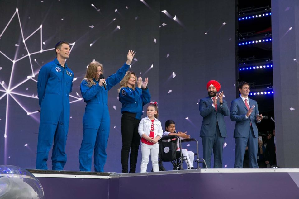 Canada's new astronauts to visit space agency near Montreal
