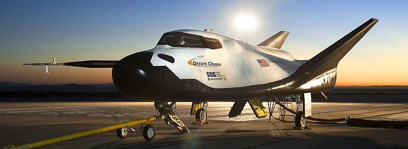 Sierra Nevada Corporation's Dream Chaser space plane. Photo Credit: Ken Ulbrich / NASA