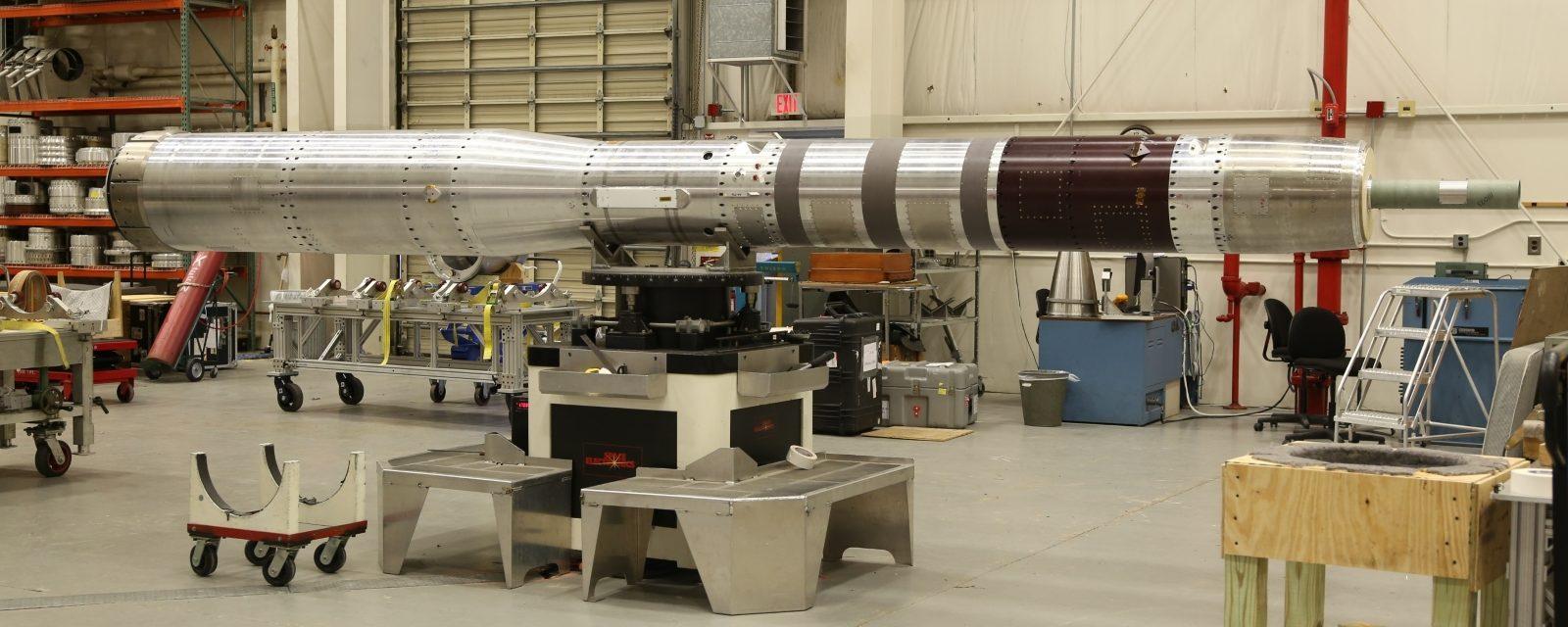 Nanotube technology test: Black Brant IX rocket (SubTec-7 mission)