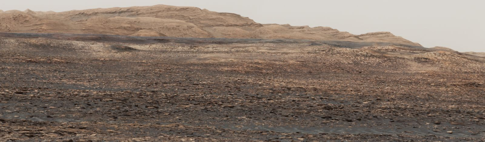 Curiosity's target: Vera Rubin Ridge. NASA/JPL/MSSS image posted on SpaceFlight Insider