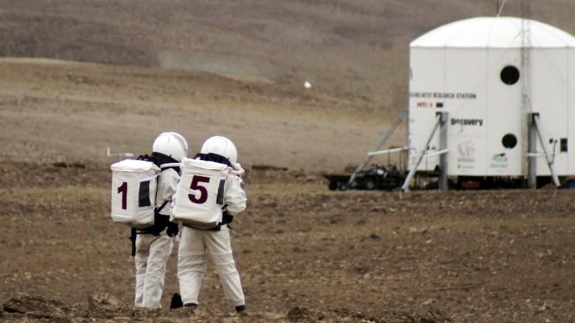 mars mission crew quarters - photo #37