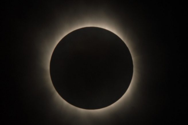 A total solar eclipse. Photo Credit: NASA