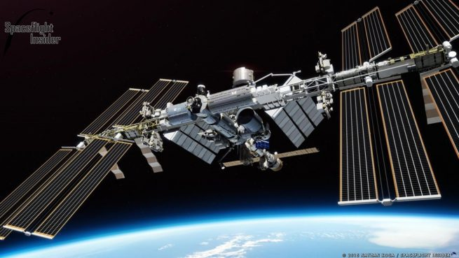 Illustrators: The International Space Station. Image Credit: Nathan Koga / SpaceFlight Insider