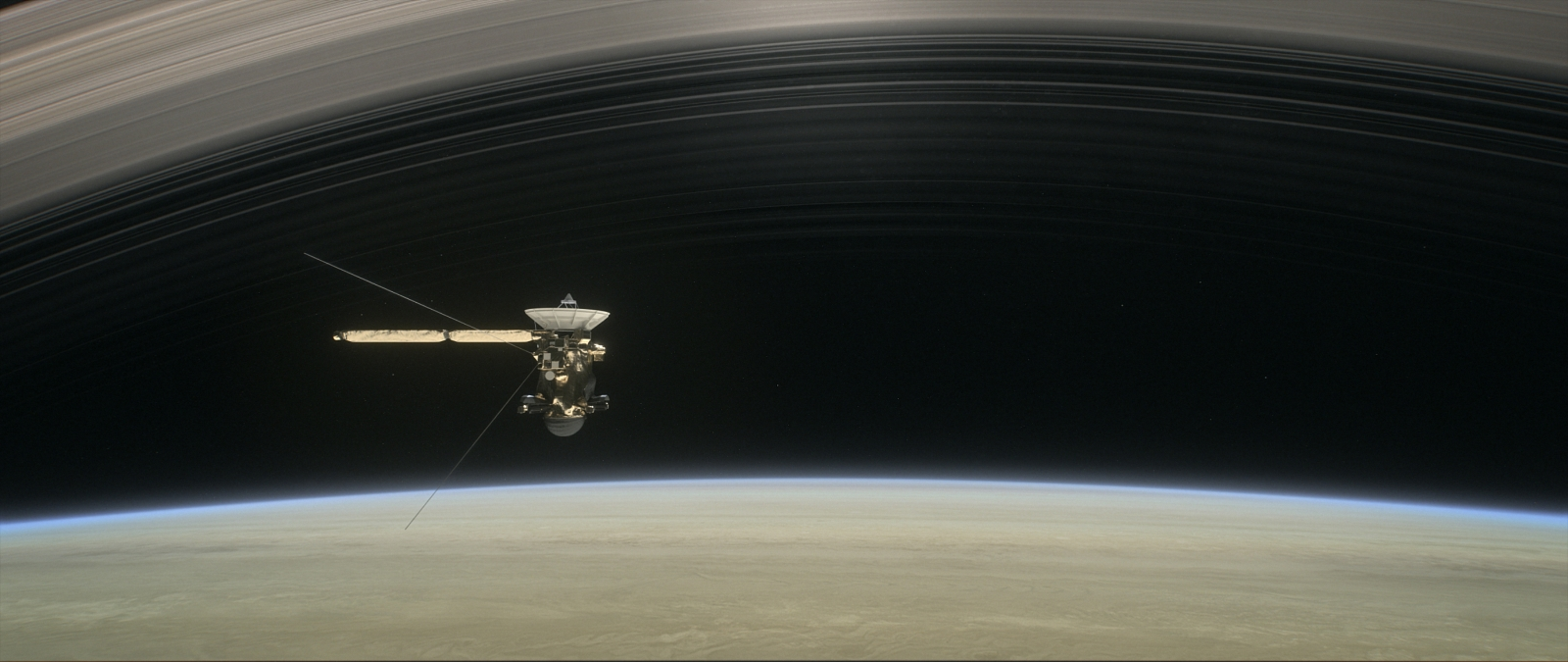 Grand Finale: Cassini over Saturn